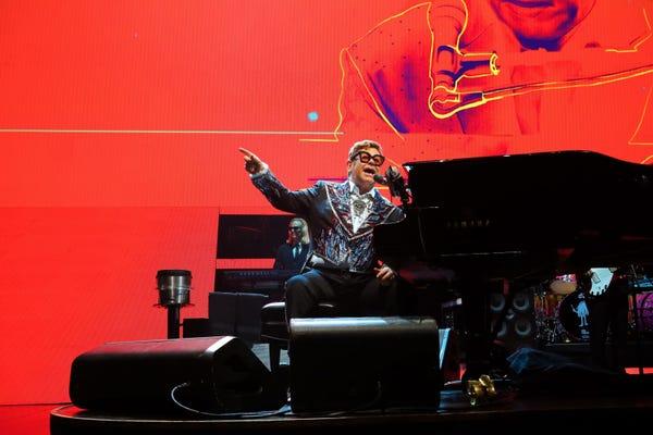 Elton John in San Antonio, TX