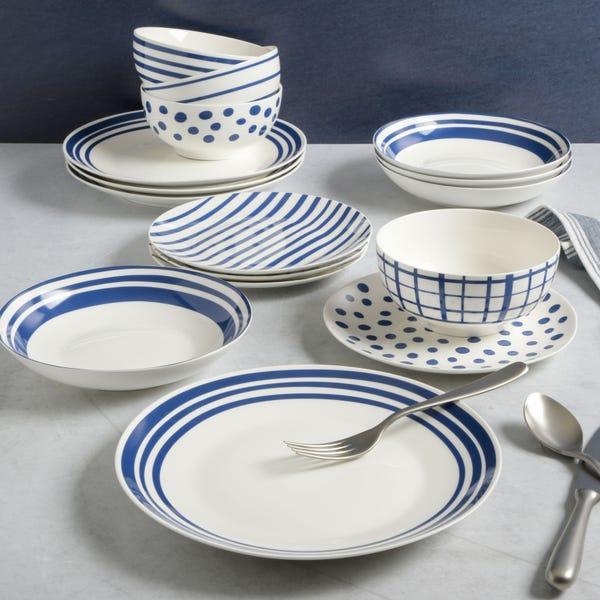 16-Piece Ceramic Dinnerware Set
