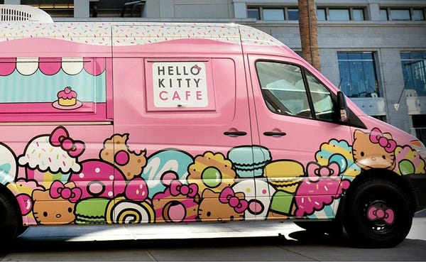 Hello Kitty Cafe Trucks