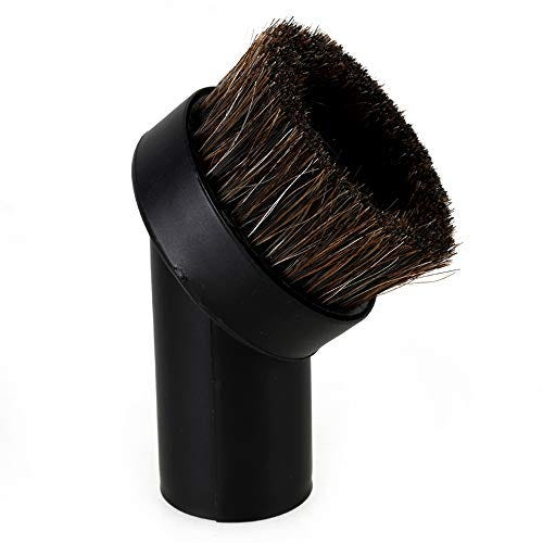 "RDEXP Round Dust Brush 25mm Horse Hair 1.25"" Vacuum Attachment Replacement"