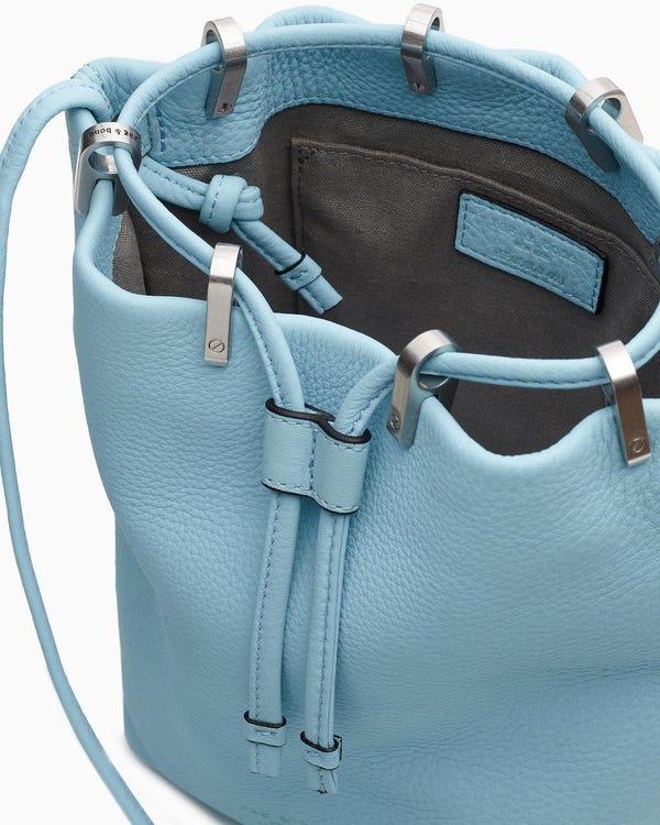 Dayton drawstring bag - leather
