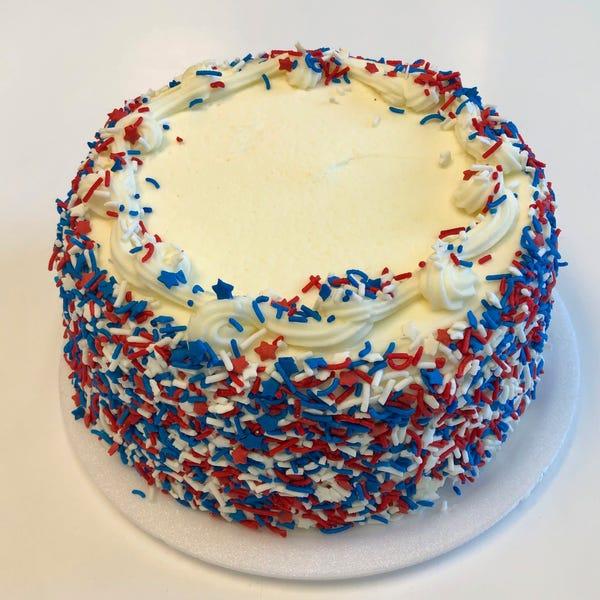U.S.Hurray! Cake