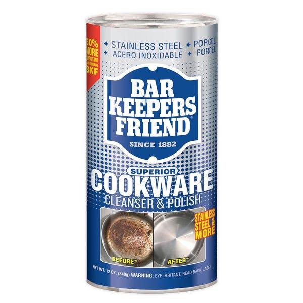 Bar Keeper's Friend 12-Ounce Cookware Cleaner