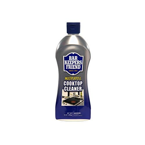 BAR KEEPERS FRIEND Multipurpose Cooktop Cleaner (13 oz) - Liquid Stovetop Cleanser