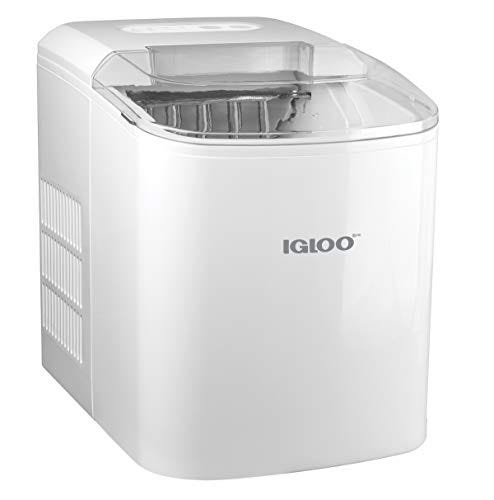 Igloo ICEB26WH Automatic Portable Electric Countertop Ice Maker Machine