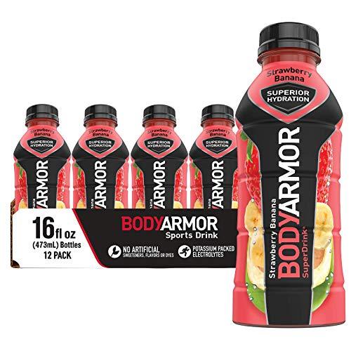 BODYARMOR Sports Drink Sports Beverage, Strawberry Banana