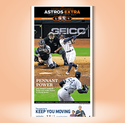 """2019 ALCS Frameable High Gloss Front-Page Reproduction (11""""x22"""")"""