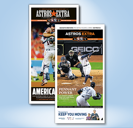 """2017 & 2019 ALCS Set-Frameable High Gloss Front-Page Reproductions (11""""x22"""")"""