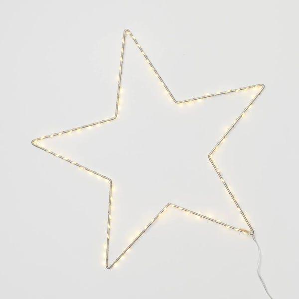 Star Wire Wall Light