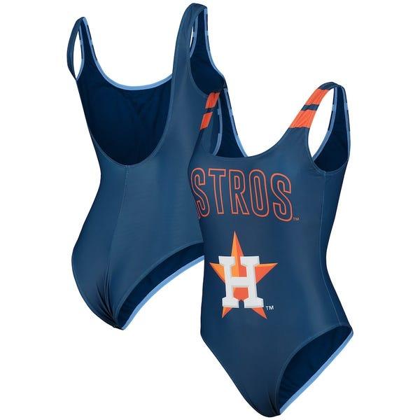 Women's Houston Astros One-Piece Bathing Suit