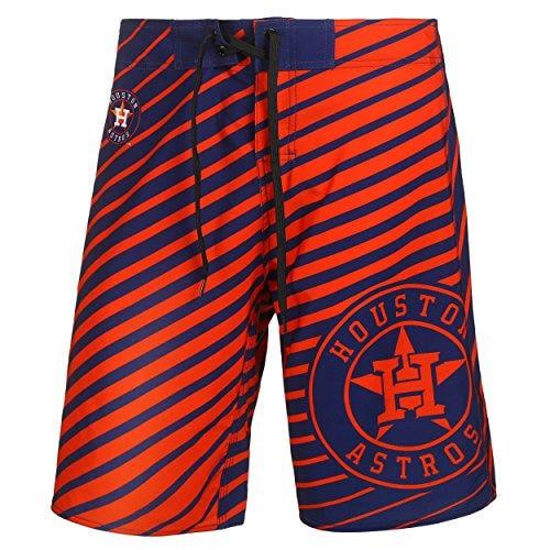 Houston Astros Stripes Poly Boardshort