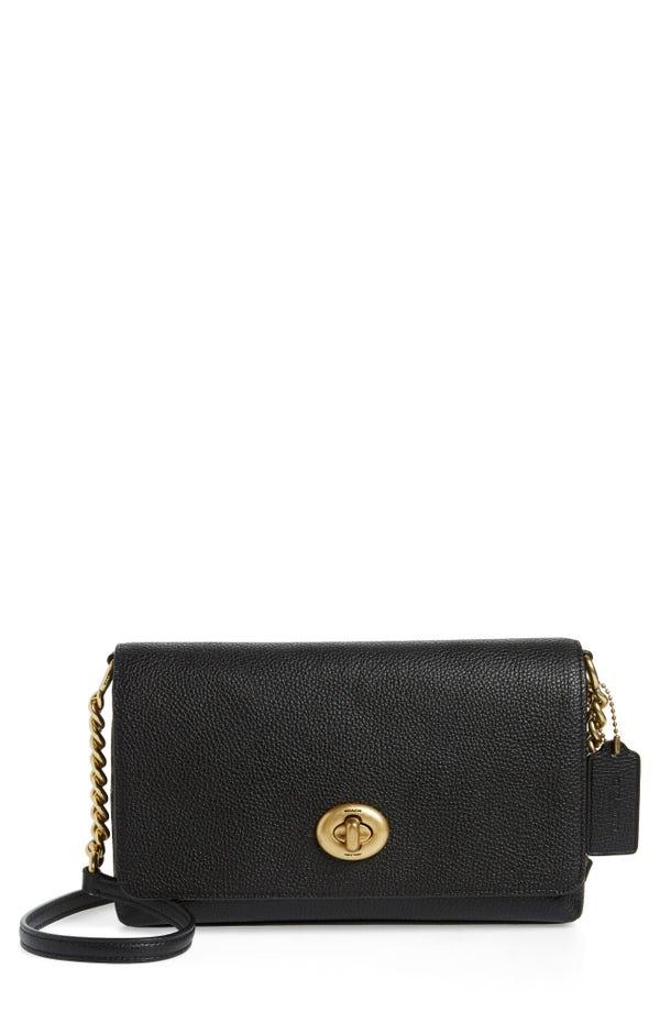 COACH Crosstown X leather shoulder bag