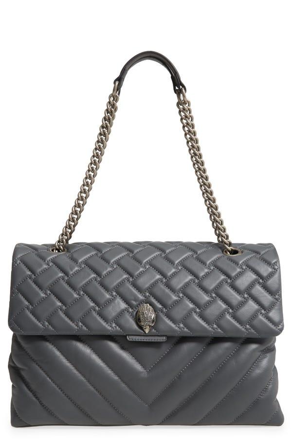 Kurt Geiger London XXL Kensington Quilted Leather Shoulder Bag
