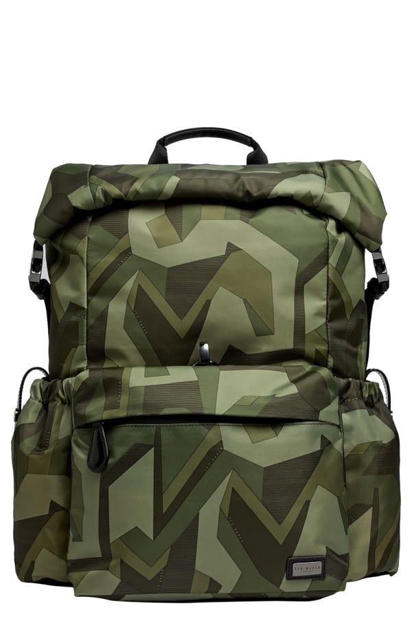 Ted Baker London Engin Camouflage Backpack