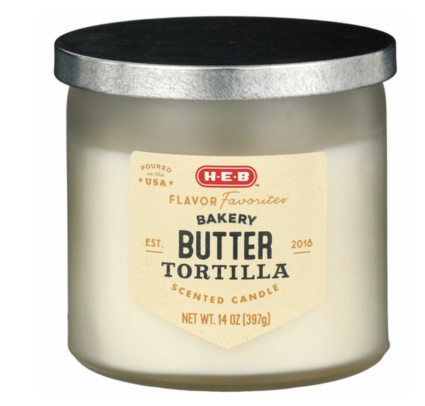 H-E-B Flavor Favorites Butter Tortilla Scented Candle