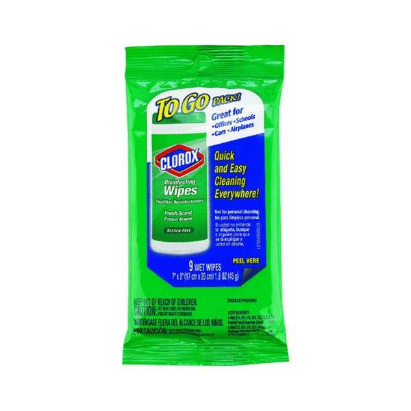 Clorox Disinfecting 9 wet Wipes