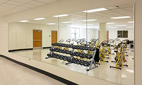 Wall Mounted Activity Mirrors for Home Gym and Commercial Use