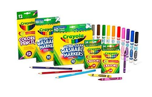Crayola Amazon Exclusive Art Set, 80 Piece