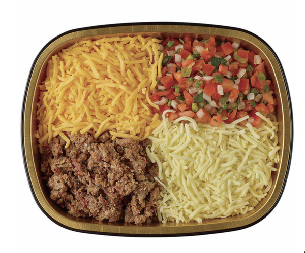H-E-B Simple Tex Mex Queso With Brisket Meal