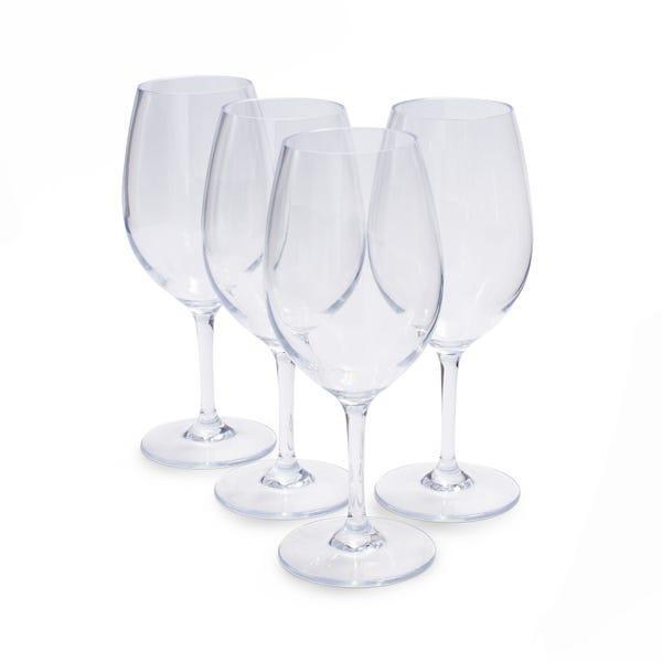 4 Outdoor Wine Glasses