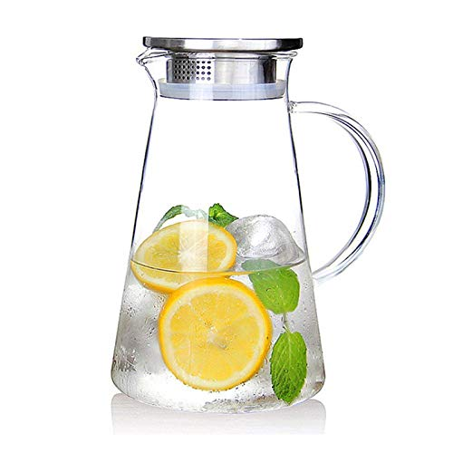 2.0 Liter Glass Pitcher