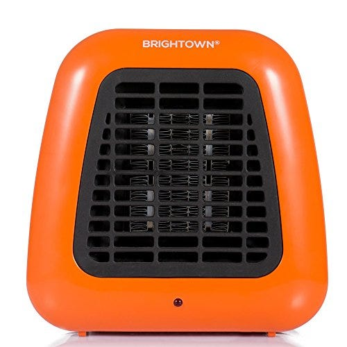 Mini Desk Heater, 400W Low Wattage Personal Ceramic Heater