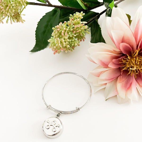 Silver Expandable Bracelet