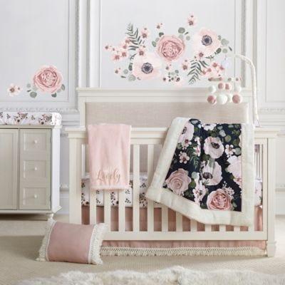 Levtex Baby® Fiori Collection 4-piece crib bedding set