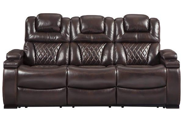Warnerton Dual Power Reclining Sofa