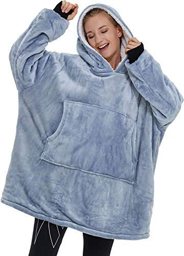 Sherpa Blanket Hoodie