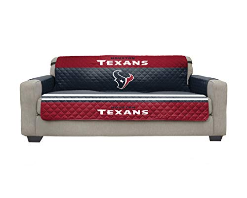 Houston Texans Microfiber Furniture Protector Cover with Elastic Straps