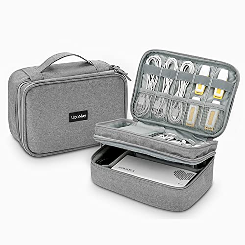 UooMay Electronics Travel Organizer Storage Bag
