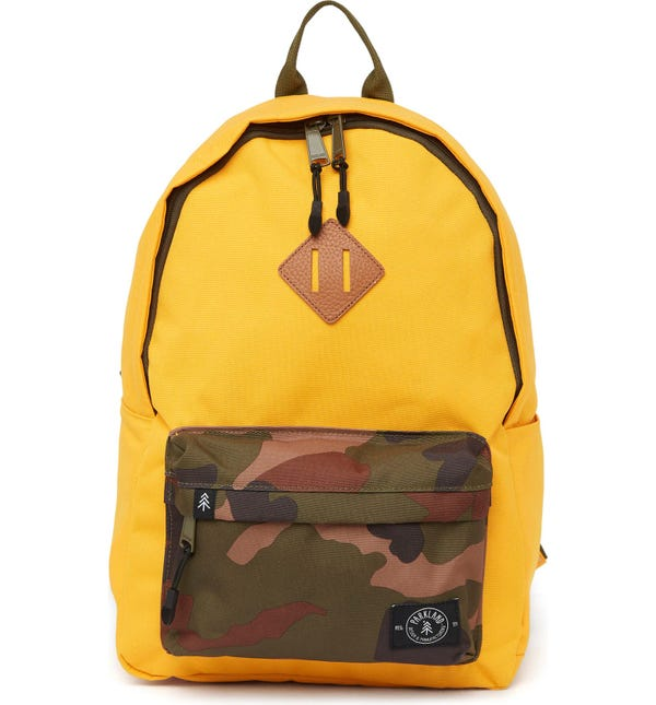 Bayside Recycled PET Camo Pocket Backpack