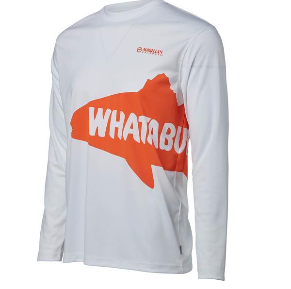 Magellan Outdoors Men's FishGear Whataburger Redfish Long Sleeve T-shirt