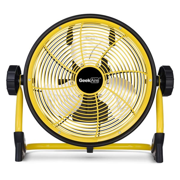 """10"""" Rechargeable Outdoor High Velocity Fan"""
