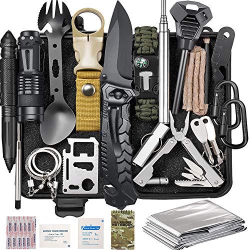 Survival Gear Kit 37 in 1, Emergency Survival Tools