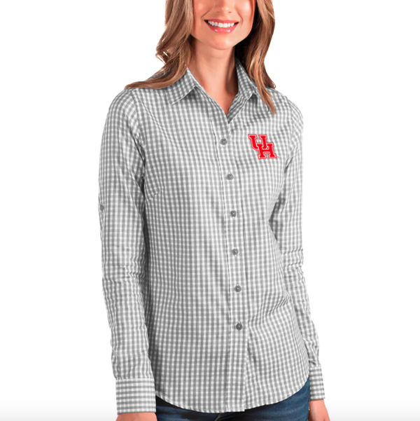 Antigua Women's Structure Button-Up Shirt
