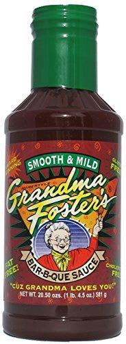 Grandma Foster's Smooth & Mild Bar-B-Que Sauce