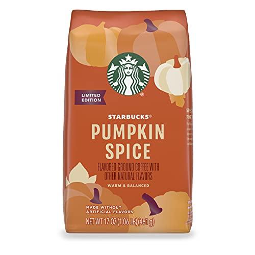 Starbucks Pumpkin Spice Light Roast Ground Coffee
