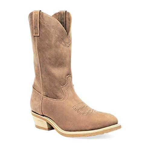 Tan Toe Western Cowboy Boot