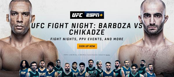 Watch UFC on ESPN+