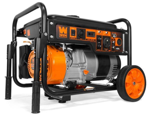 WEN 6000-Watt RV-Ready Portable Generator with Wheel Kit