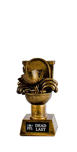 Fantasy Football Trophy - Dead Last Toilet Bowl Championship Award