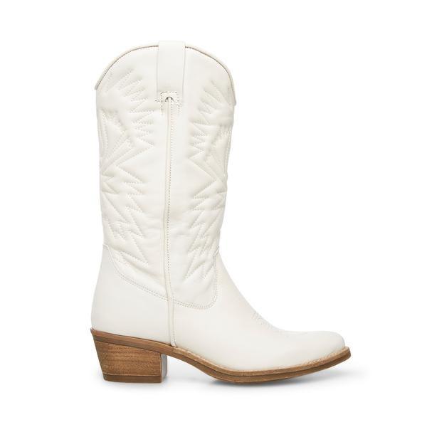Hayward White Leather