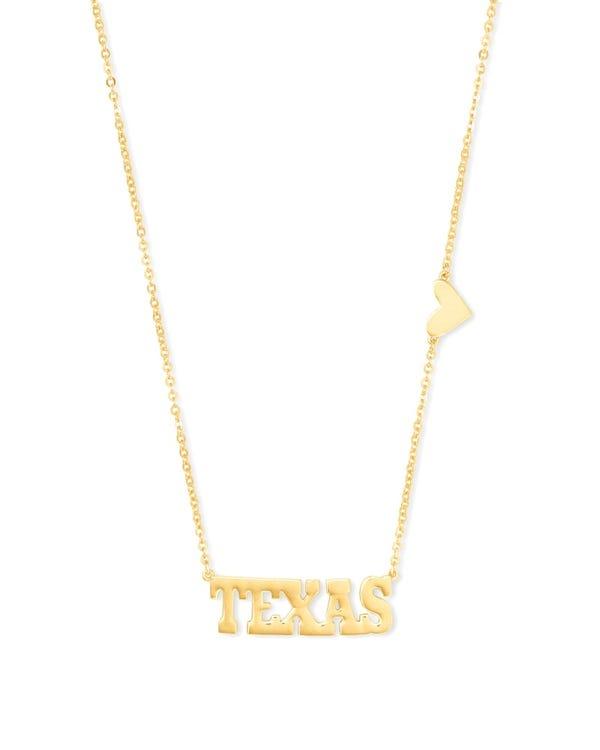 Texas Pendant Necklace