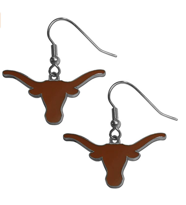 Texas Longhorns Dangle Earrings
