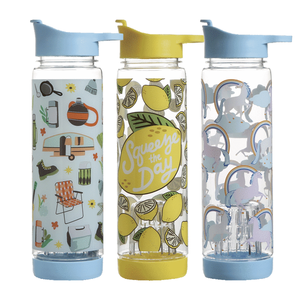 3-pack Molly & Rex Flavor Infusion Water Bottles