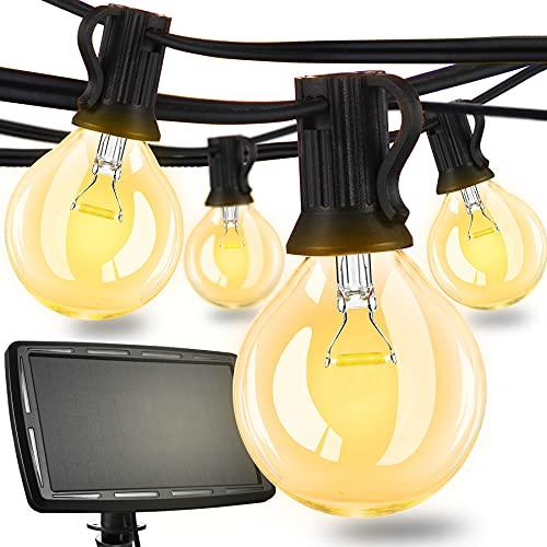 27Ft Outdoor String Lights, YUSENONA Led String Lights, Patio Lights