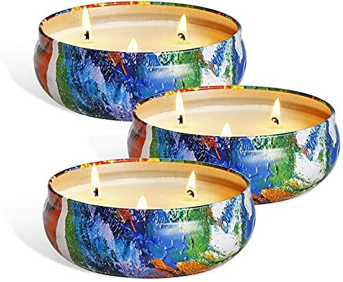 YYCH Citronella Candles, 13.5oz - Candle for Outdoor Indoor