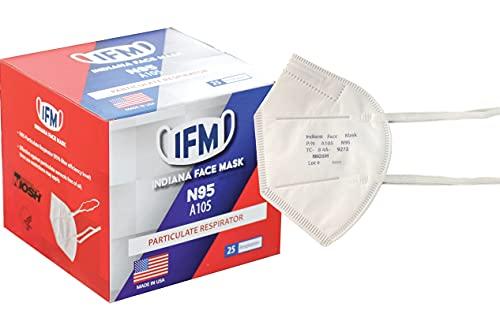 Indiana Face Mask N95 Respirator